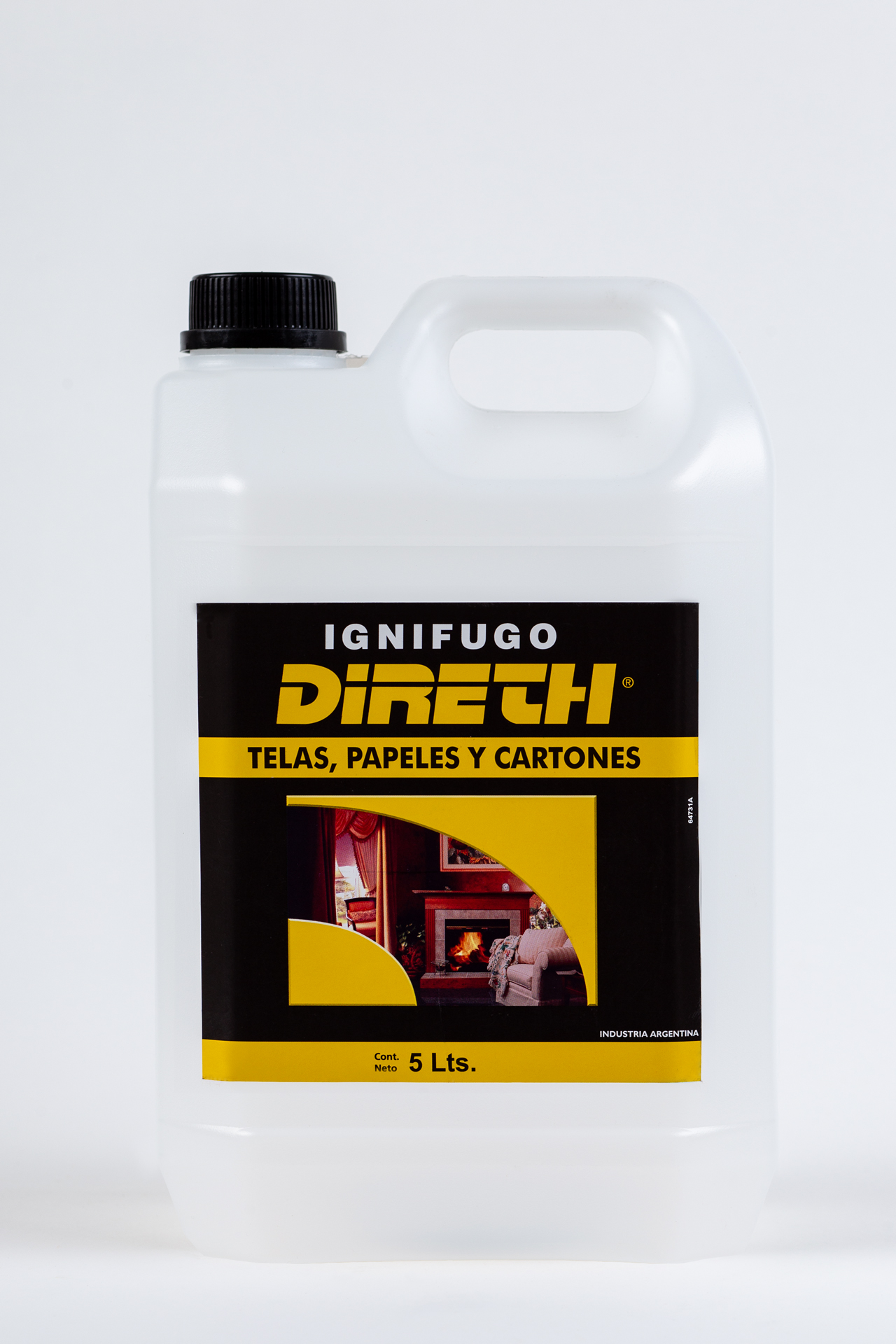 Ignífugo para Telas, Papeles y Cartones